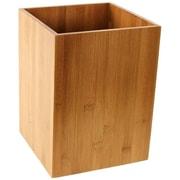 Gedy by Nameeks Cubico Waste Basket; Bamboo