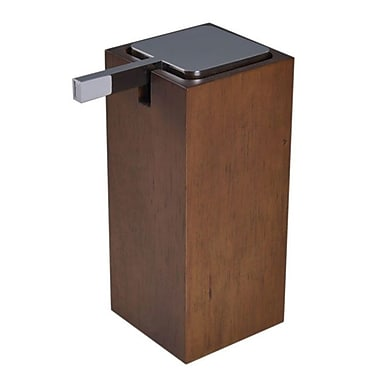 Gedy by Nameeks Cubico Soap Dispenser; Brown