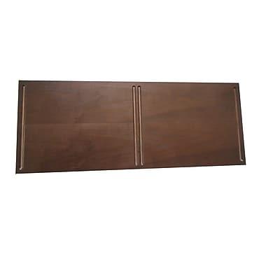 Quagga Designs Qdtop2w-m qd-box™ Top Panel for 2 qd-boxes™, Dark Chocolate Stain