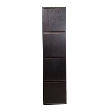 Quagga Designs qd-box™ Top Panel for 4 qd-boxes™, Dark Chocolate Stain