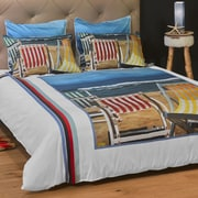 ARTnBED Beautiful Day Duvet Cover; King