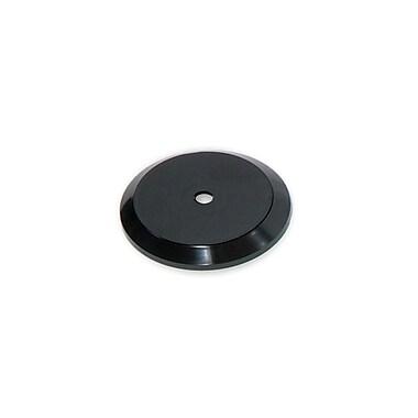 Azar Displays – Présentoir rotatif de 5 po en plastique, base inclinée, noir, 10/paquet (610105-BLK)