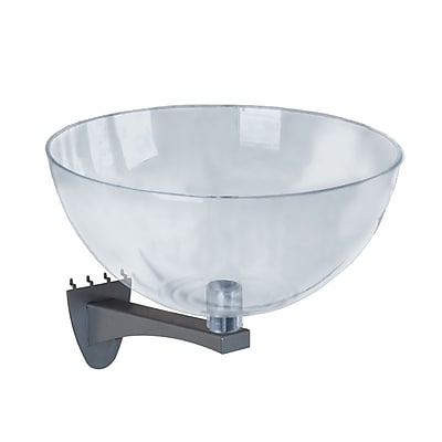 Azar 14-inch Clear Hanging Bowl Display