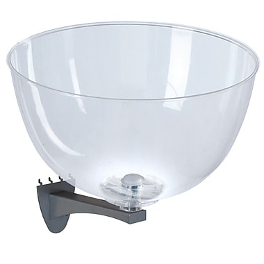 Azar 16-inch Clear Hanging Bowl Display