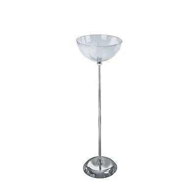 Azar Displays Single Bowl Floor Display