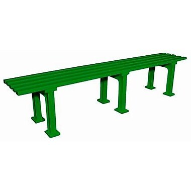 Putterman Athletics Midcourt Park Bench; Green