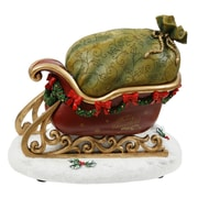 Winward Silks Santa's Sleigh Music Box