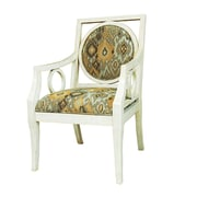 Crestview Lisbon Antique Pattern Arm Chair