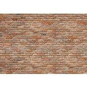 """Komar Brick Wall Wall Mural, 100"""" x 145"""""""