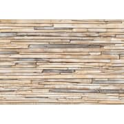 Komar – Whitewashed Wood, murale de 100 x 145 po