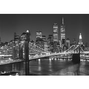 Ideal Decor – Brooklyn Bridge, murale de 100 x 144 po
