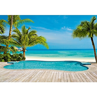 Ideal Decor Pool Wall Mural, 100