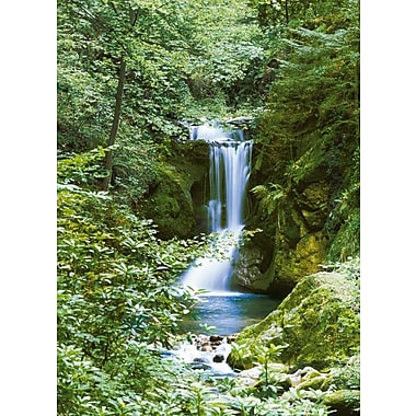 Ideal Decor – Water Fall in Spring, 72 x 100 po