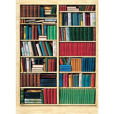 Ideal Decor – Bookshelf, murale de 72 x 100 po
