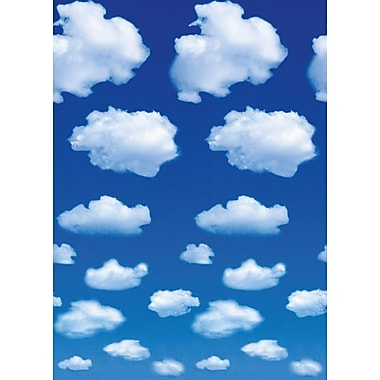 Ideal Decor Clouds Wall Mural, 72