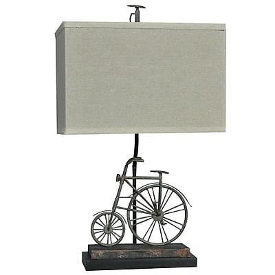 Crestview Big Wheel 24'' Table Lamp