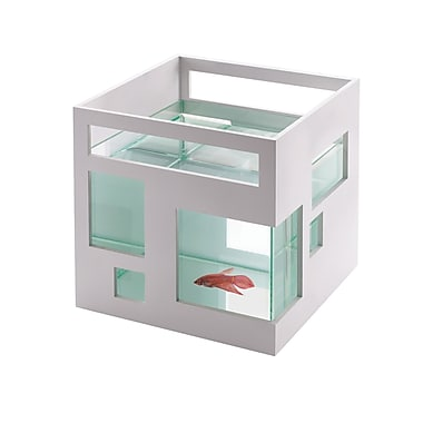 Umbra Fish Hotel Fish Bowl, White