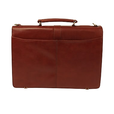Bond Street 3 Guesset Executive Briefcase, Cognac