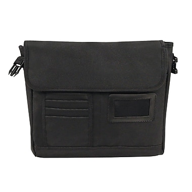 Bond Street Briefcase in Nylon, Black
