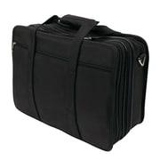 "Bond Street Executive Briefcase for 17"" Laptop, Black"