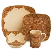 222 Fifth Spice Road 16 Piece Dinnerware Set