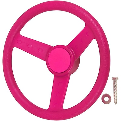 Swing Set Stuff Steering Wheel; Pink