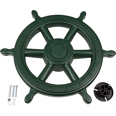 Swing Set Stuff Ships Wheel; Green WYF078277605461
