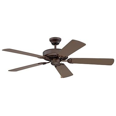Kendal Lighting 52'' Builder's Choice 5-Blade Fan; Oil Rubbed Bronze