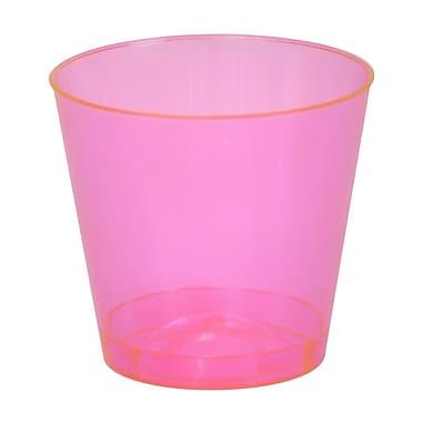 Fineline Settings, Inc Savvi Serve 2 oz. Plastic Shot Glass (2500 Pack); Red