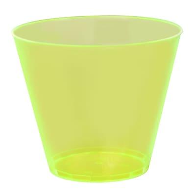 Fineline Settings, Inc Savvi Serve Old-Fashioned 9 oz. Plastic Old Fashioned Glass (500 Pack)