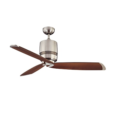 Kendal Lighting 52'' Tris 3-Blade Fan w/ Wall Remote