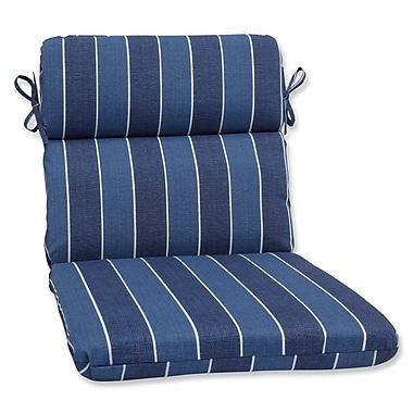 Pillow Perfect Wickenburg Outdoor Chaise Lounge Cushion; Indigo