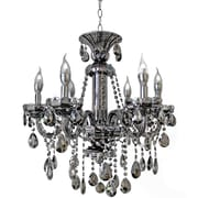 LightUpMyHome 6-Light Crystal Chandelier