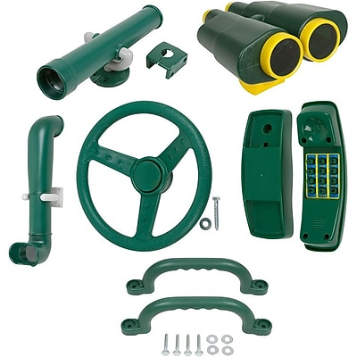 Swing Set Stuff 19 Piece Deluxe Accessories Kit; Green