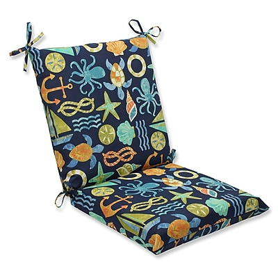 Pillow Perfect Seapoint Outdoor Lounge Chair Cushion; Neptune