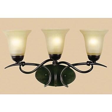 AF Lighting Santa Fe Elements 3-Light Vanity Light