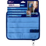 Just Solutions Sort It Overdoor Hanging Organizer; Blue