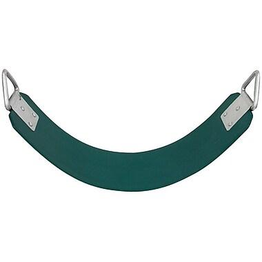 Swing Set Stuff Commercial Rubber Belt Swing Seat; Green