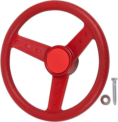 Swing Set Stuff Steering Wheel; Red