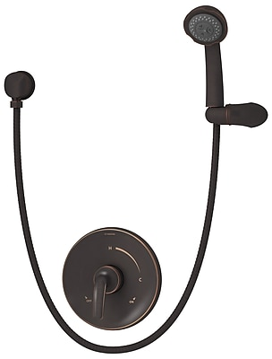 Symmons Elm Pressure Balance Hand Shower w/ Lever Handle; Seasoned Bronze