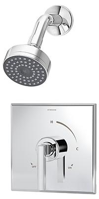 Symmons Duro Pressure Balance Shower Faucet w/ Lever Handle; Chrome
