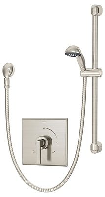 Symmons Duro Hand Shower System w/ Lever Handle; Chrome