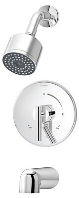 Symmons Dia Tub and Shower Trim w/ Lever Handle; Chrome