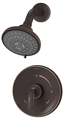 Symmons Elm Shower Trim w/ Lever Handle; Satin Nickel