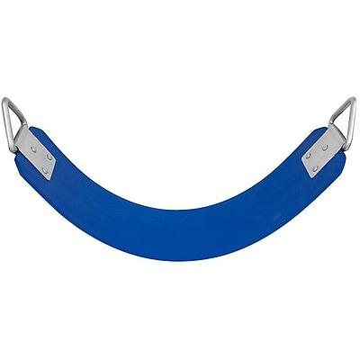 Swing Set Stuff Commercial Rubber Belt Swing Seat; Blue