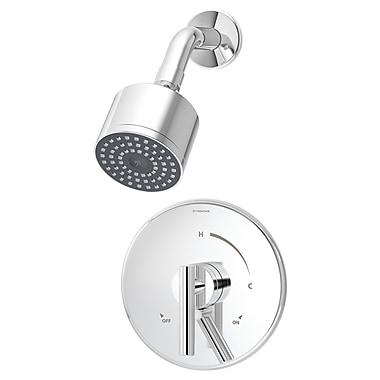 Symmons Dia Pressure Balance Shower Faucet w/ Lever Handle; Chrome