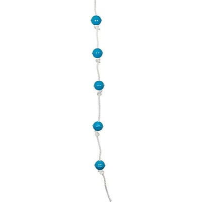 Swing Set Stuff Ball Climbing Rope; Blue