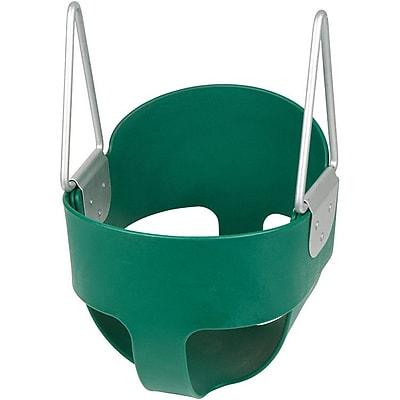 Swing Set Stuff Highback Full Bucket Swing Seat; Green