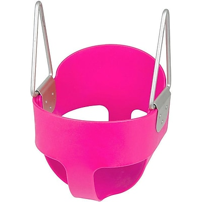 Swing Set Stuff Highback Full Bucket Swing Seat; Pink