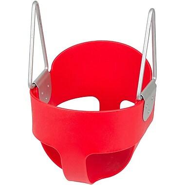 Swing Set Stuff Highback Full Bucket Swing Seat; Red
